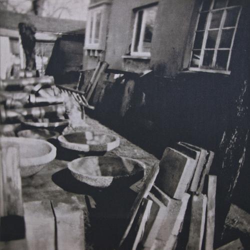 Terrazzoarbeiten auf dem alten Firmengelände